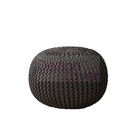 patterns pouf pattern guide knitted knit ottoman