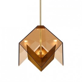 Maxhedron single pendant lamp