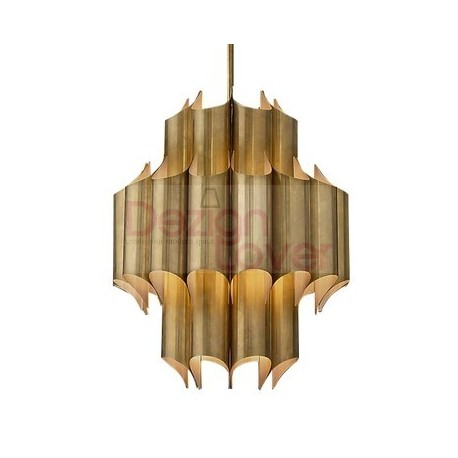 Rh Cathedral Brass Chandelier An Industrial Lighting