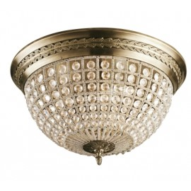 RH 19TH C. CASBAH CRYSTAL CEILING LAMP