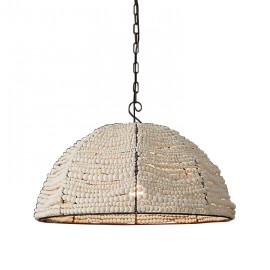 RH Clay Bead Dome pendant lamp