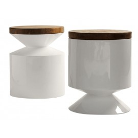Tabouret/table d'appoint style Griffin