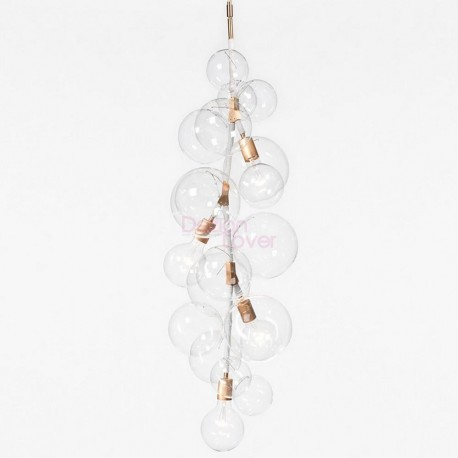 Tall bubble chandelier by pelle design by jean and oliver pelle tall bubble chandelier aloadofball Choice Image