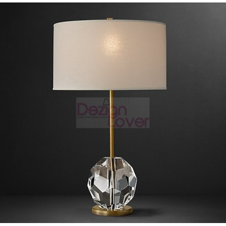RH BOULE DE CRISTAL TABLE LAMP