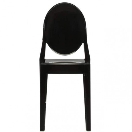 chaise design victoria ghost par philippe starck pour kartell. Black Bedroom Furniture Sets. Home Design Ideas