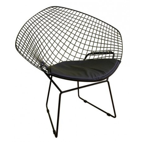 Bertoia Diamond Armchair By Knoll   Design By  Free Shipping To Worldwide!