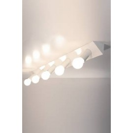Applique ou Plafonnier design 2160 AT5 rampe lumineuse 5 spots