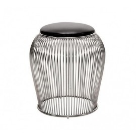WARREN PLATNER style WIRE STOOL