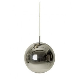 Mirror ball pendant lamp design