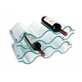 Elan Acrylic 10 Bottle Wine Rack design