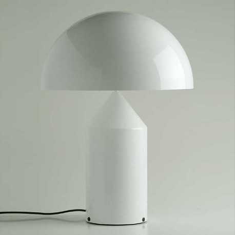 Atollo 237 Table Lamp In Glass By Oluce Design By Free