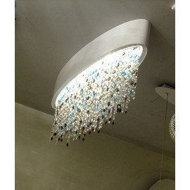 OLA ceiling lamp oval