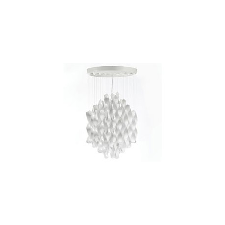 Spiral sp1 ceiling or pendant lamp by verpan design by free spiral pendant lamp aloadofball Images