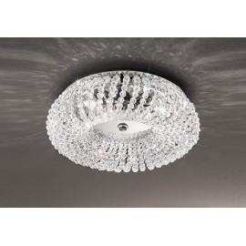 Carla crystal ceiling lamp