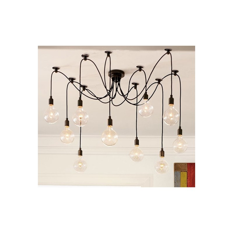 Edison Style Chandelier By Pottery Barn Design By Free