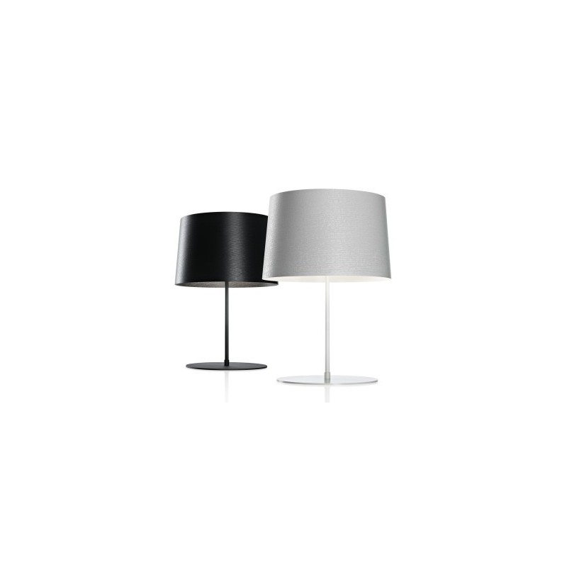 lampe de table design twiggy blanc en solde par foscarini design par livraison gratuite pour. Black Bedroom Furniture Sets. Home Design Ideas
