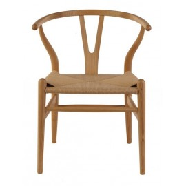 Wegner Wishbone CH24 Y chair in ash