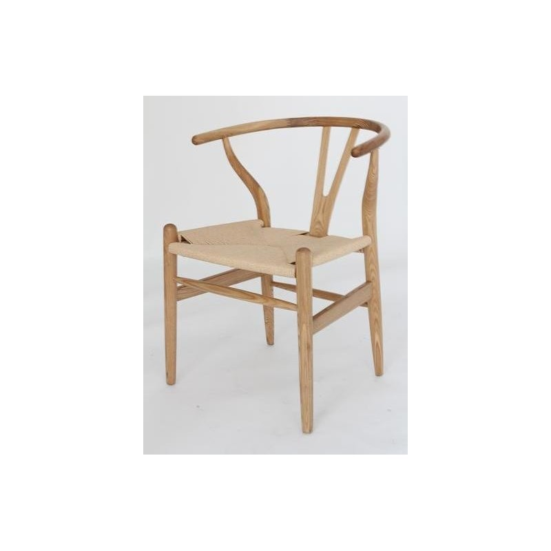 wegner wishbone ch24 y chair in ash by carl hansen son design by free shipping to worldwide. Black Bedroom Furniture Sets. Home Design Ideas