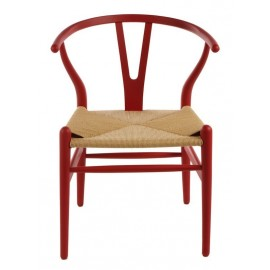 Wegner Wishbone CH24 Y chair in beech