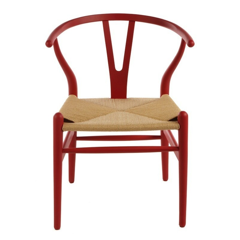 wegner wishbone ch24 y chair in beech by carl hansen son design by free shipping to worldwide. Black Bedroom Furniture Sets. Home Design Ideas