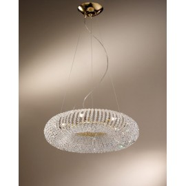 Carla crystal pendant lamp 80cm on sale