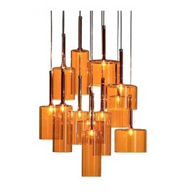 Spillray pendant lamp 12 lights