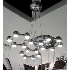 Link LED pendant lamp 18 bulbs on sale