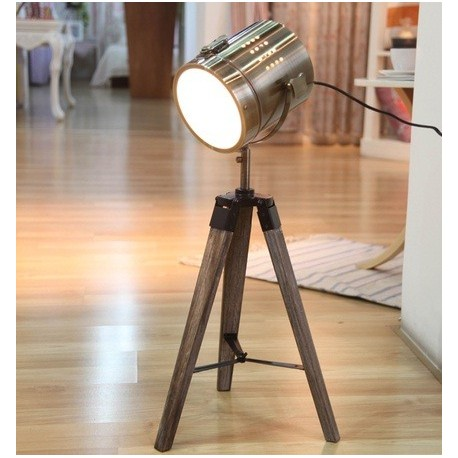 Attractive Royal Marine Tripod Table Lamp