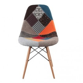 DSW Eames side chair Special Patchwork Upholstered