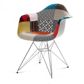 Leaf sled lounge chair by arper design by free shipping for Fauteuil eames patchwork