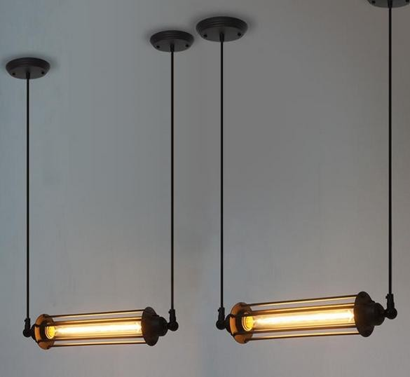industrial vintage edison 1 tube filament bulb pendant lamp by vitra design by free shipping to worldwide