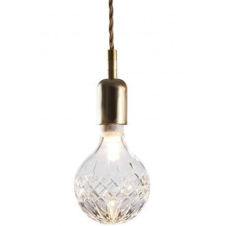 Crystal bulb pendant l&  sc 1 st  Dezignlover.com & Crystal bulb LED pendant lamp by Lee Broom-Free shipping to worldwide!