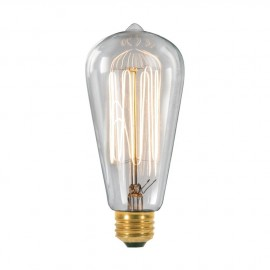 Edison Filament Light Bulb ST64
