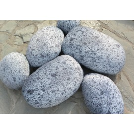 Collection Mars design Rock cushion pouf set of 6pcs