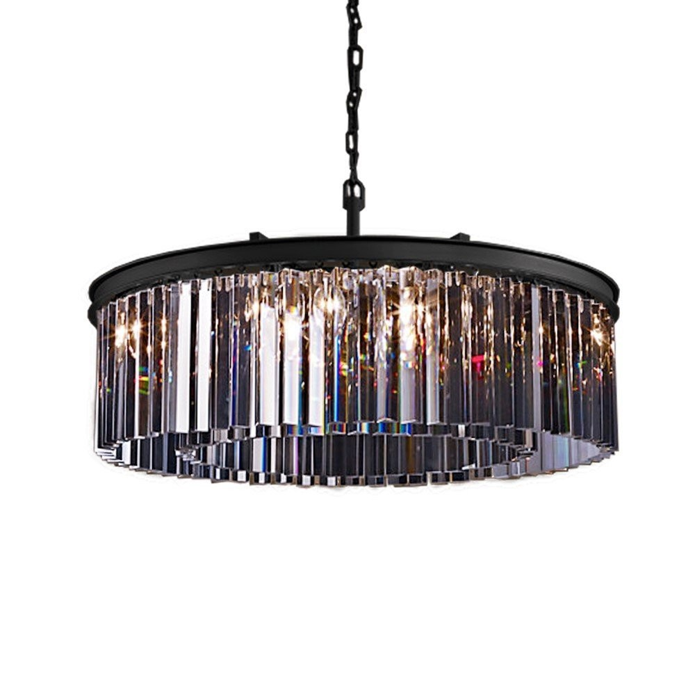 p acrylic polished air beveled with pb brass shades prism lighting chandeliers bel light stewart crystal chandelier
