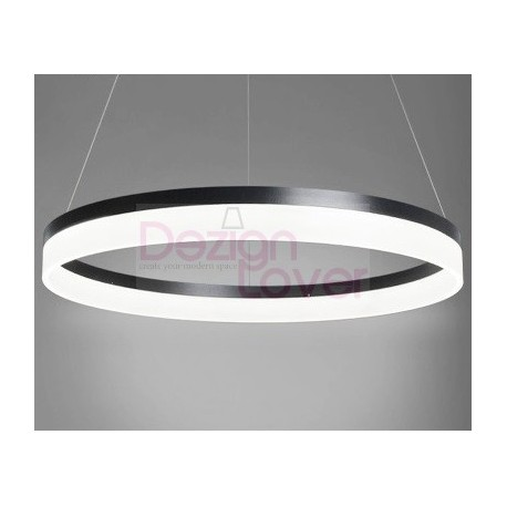 suspension moderne led 1 ring forme ronde un luminaire design pour maison moderne sur. Black Bedroom Furniture Sets. Home Design Ideas