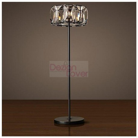 rh harlow crystal floor lamp design an industrial lighting design on