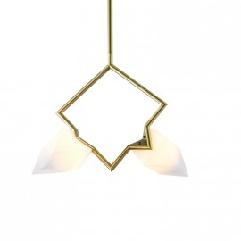 Seed double pendant lamp