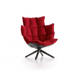 Husk Swivel Armchair H3G _ Dezign Lover