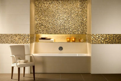 The golden color… for a chic interior decor!