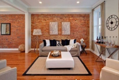 Sublimate your interior design with ... brick walls!