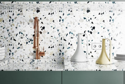 Chic and sparkling: the terrazzo trend is back!