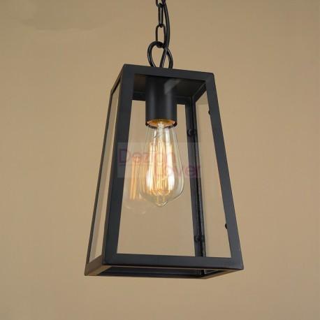 Filament Industrial Loft pendant lamp