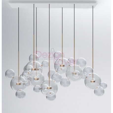 Bolle Bubble Led Pendant Lamp 34 Free Worldwide Delivery