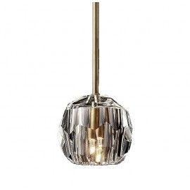 APPLIQUE RH BOULE DE CRISTAL LED SINGLE