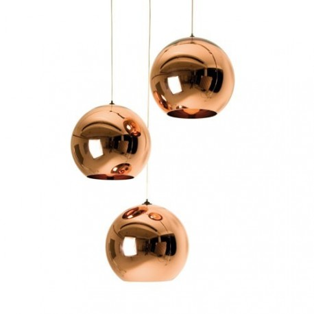 Copper Shade pendant lamp design