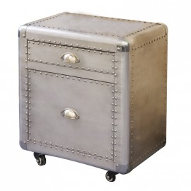 Dakar Aluminum Industrial style Coffee Side Table