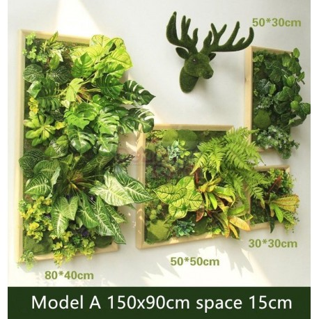 Artificial Green Wall Plant Panels Free Worldwide