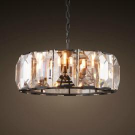 RH Harlow Crystal Round design Chandelier D78cm