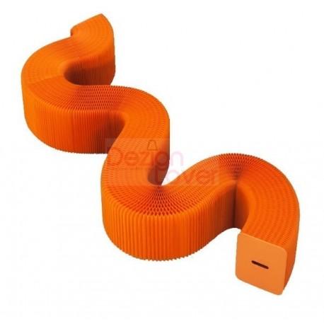 Banc extensible et modulable H42cm en orange